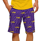 Loudmouth Men's LSU Tigers 'Geaux Tigers' Golf Shorts