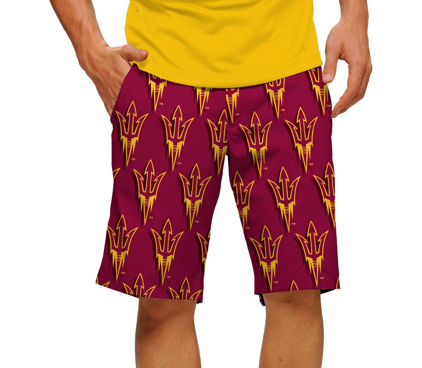 Loudmouth Men's Arizona State Sun Devils 'Fork Em' Golf Shorts