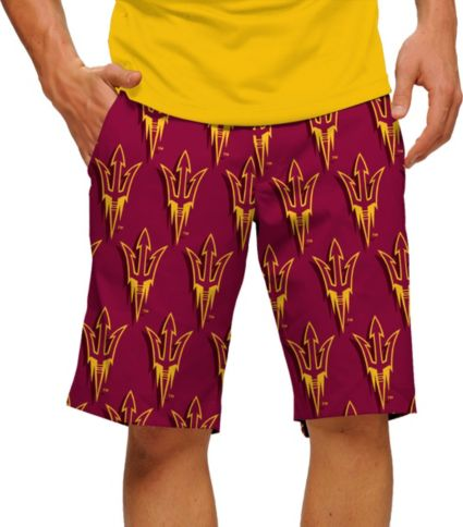 Loudmouth Men's Arizona State Sun Devils 'Fork Em' Golf Shorts