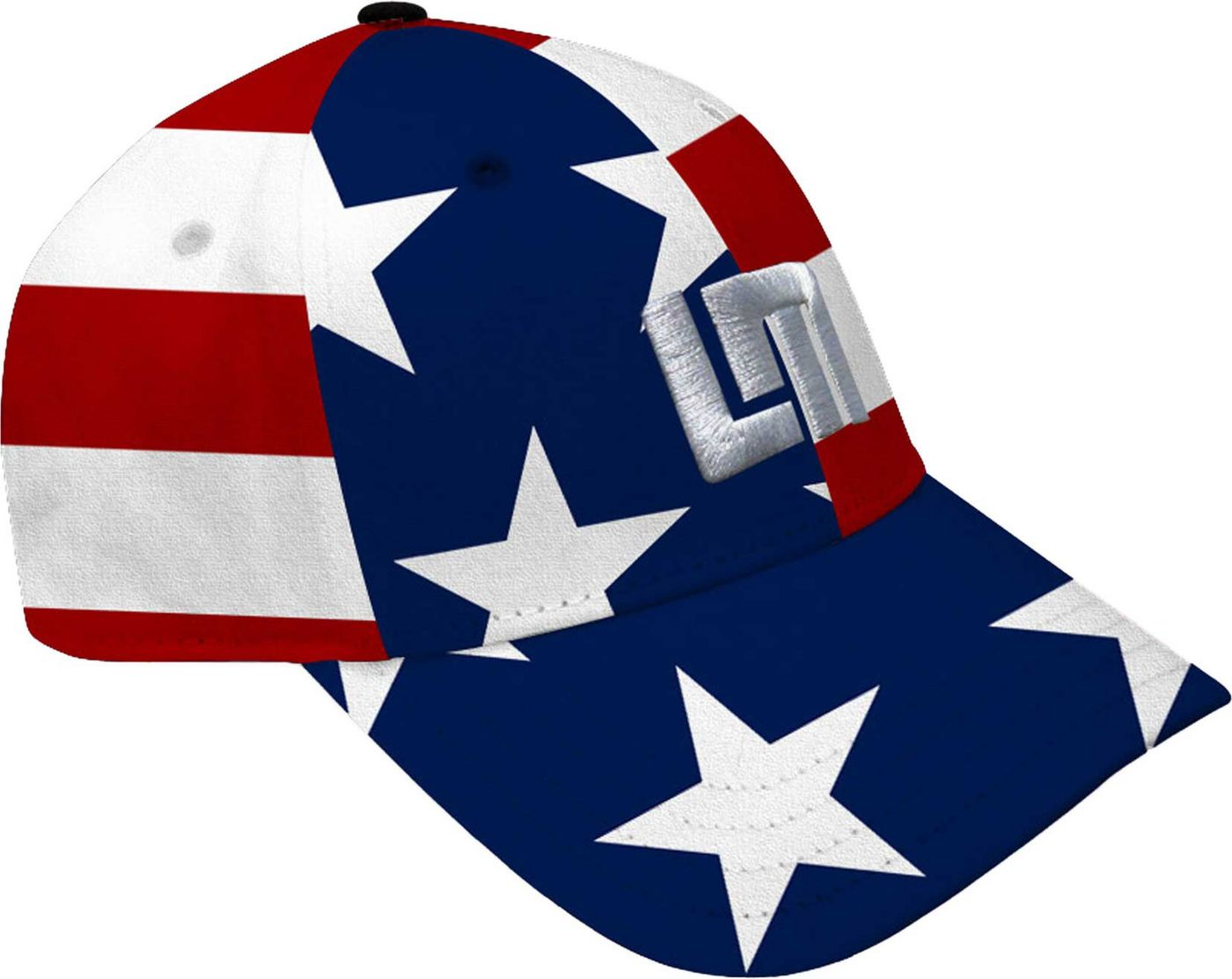 Loudmouth Men's Stars & Stripes All-Over Golf Hat