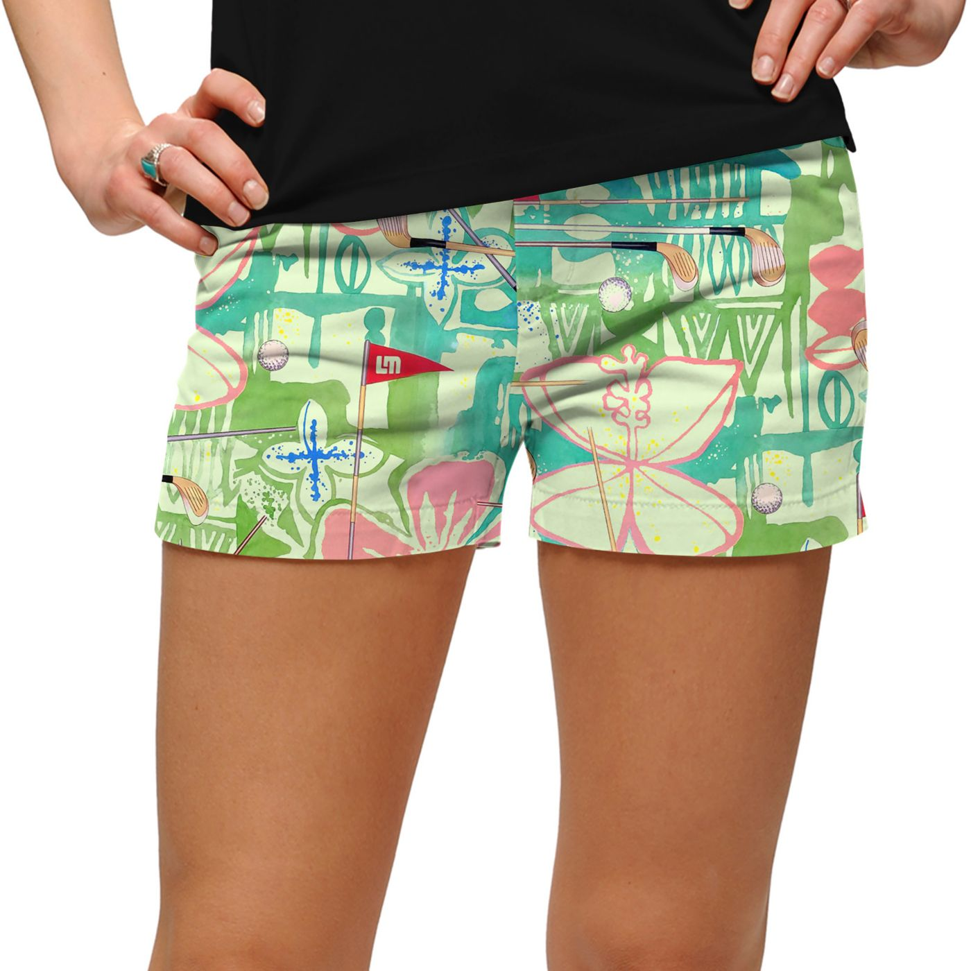 Loudmouth Women's Baffing Spoon StretchTech Golf Shorts
