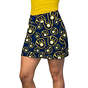 Loudmouth Women's Milwaukee Brewers Golf Skort