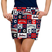 Loudmouth Women's Cleveland Indians Golf Skort