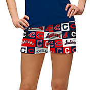 Loudmouth Women's Cleveland Indians Golf Mini Shorts