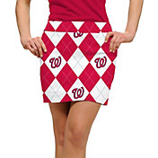 Loudmouth Women's Washington Nationals Golf Skort