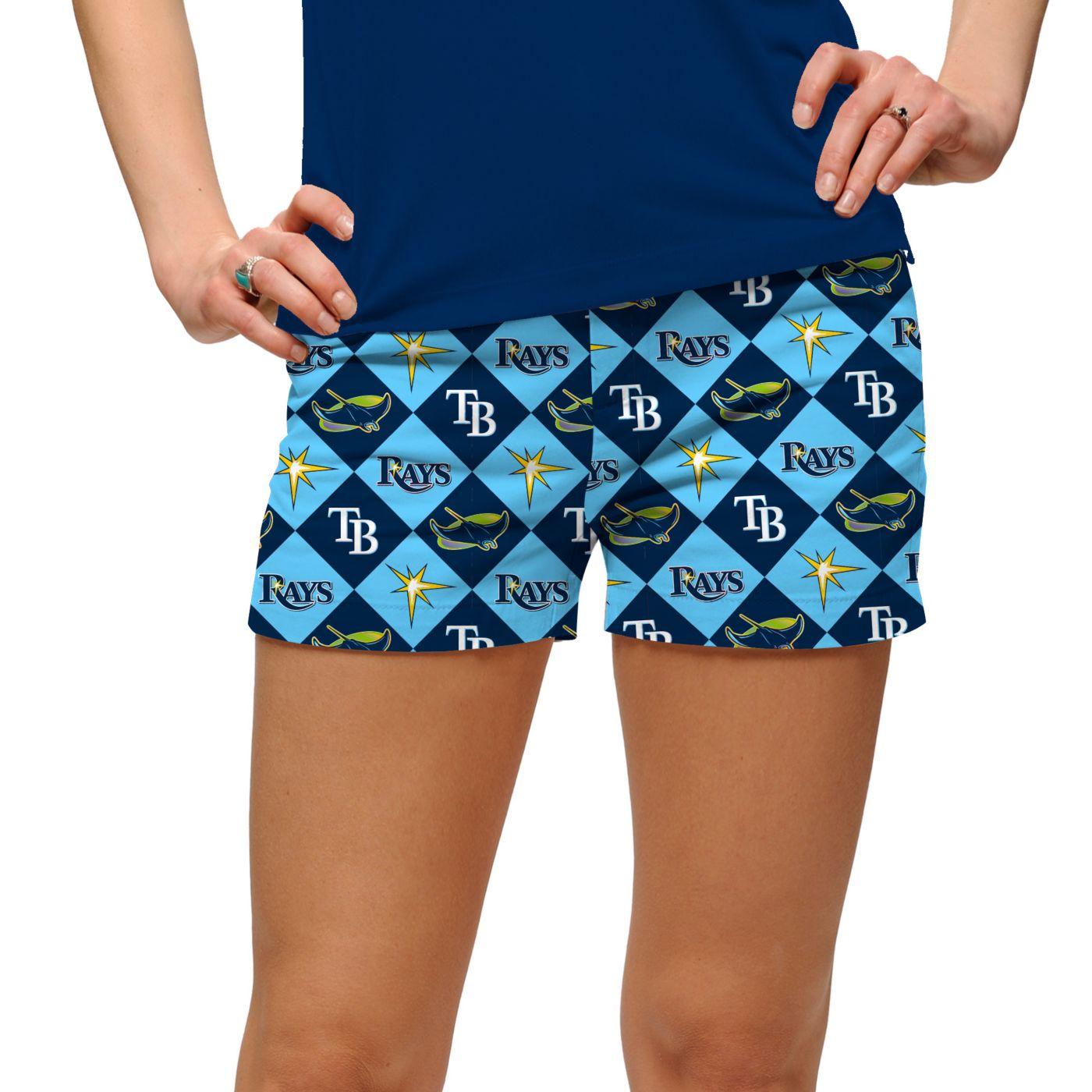Loudmouth Women's Tampa Bay Rays Golf Mini Shorts