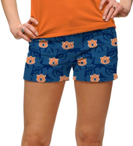 Loudmouth Women's Auburn Tigers 'Fearless & True' Mini Golf Shorts