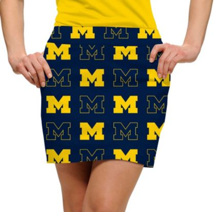 Loudmouth Women's Michigan Wolverines 'Go Blue' Skort