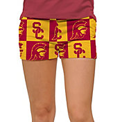 Loudmouth Women's USC Trojans 'Fight On' Mini Golf Shorts