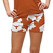 Loudmouth Women's Texas Longhorns 'Bevo' Mini Golf Shorts