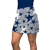 Loudmouth Golf Women's Dallas Cowboys Silver Active Skort