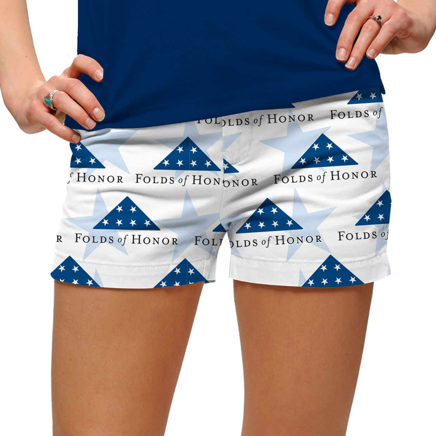 Loudmouth Women's Folds of Honor Mini Golf Shorts