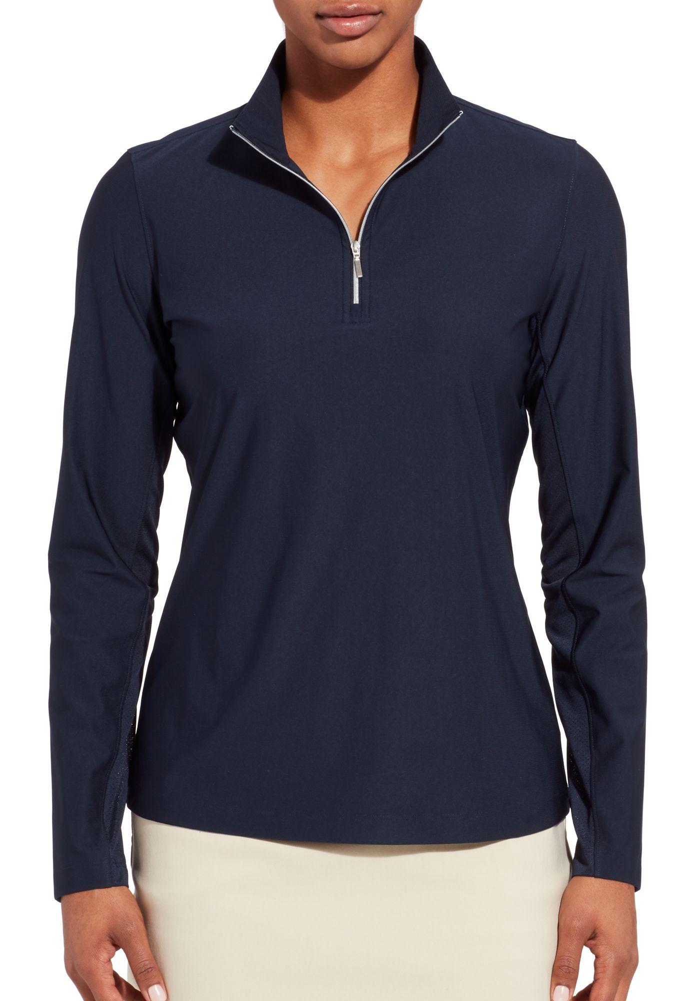 Lady Hagen Women's UV ¼-Zip Golf Pullover
