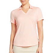 Lady Hagen Women's Spacer Textured Short Sleeve Golf Polo