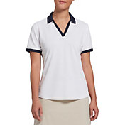 Lady Hagen Women's Contrast Pique Short Sleeve Golf Polo