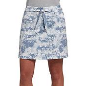 Lady Hagen Women's Printed Tie Woven Golf Skort