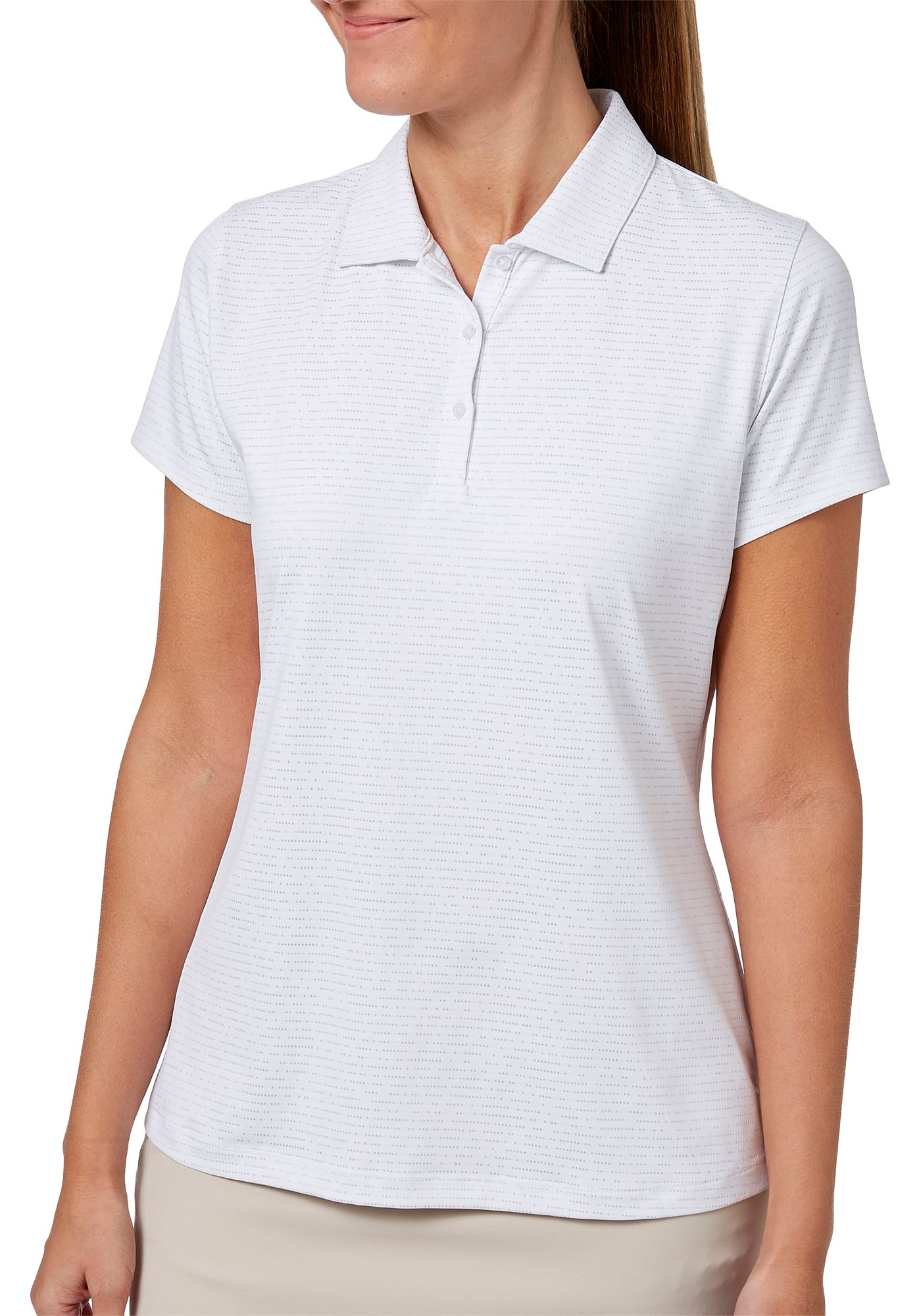 Lady Hagen Women's Empower Collection Dot Print Golf Polo