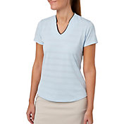 Lady Hagen Women's Empower Collection Mock Golf Polo