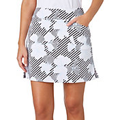 Lady Hagen Women's Empower Collection Floral Printed Tummy Control Golf Skort