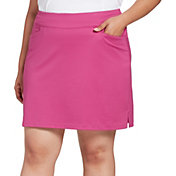 Lady Hagen Women's Chevron Pull-On Golf Skort - Extended Sizes