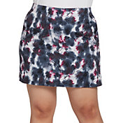 Lady Hagen Women's Printed Floral Golf Skort - Extended Sizes