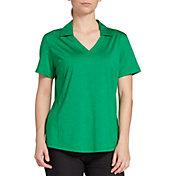 Lady Hagen Spacedye Short Sleeve Golf Polo