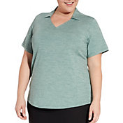 Lady Hagen Women's Spacedye Golf Polo - Extended Sizes