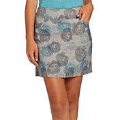 Lady Hagen Women's Floral Printed Tummy Control Golf Skort