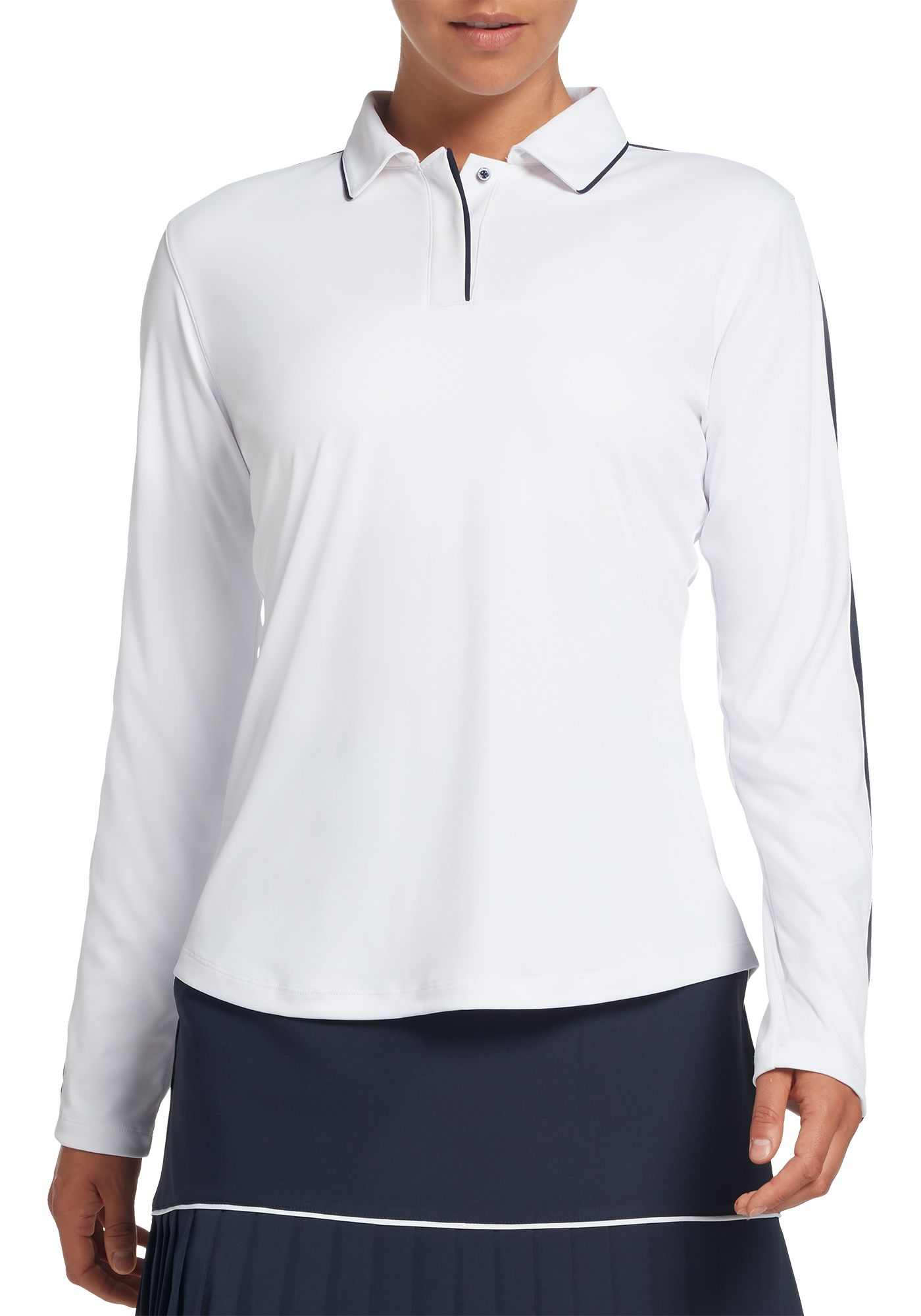 Lady Hagen Women's Tranquil Collection Long Sleeve Golf Polo