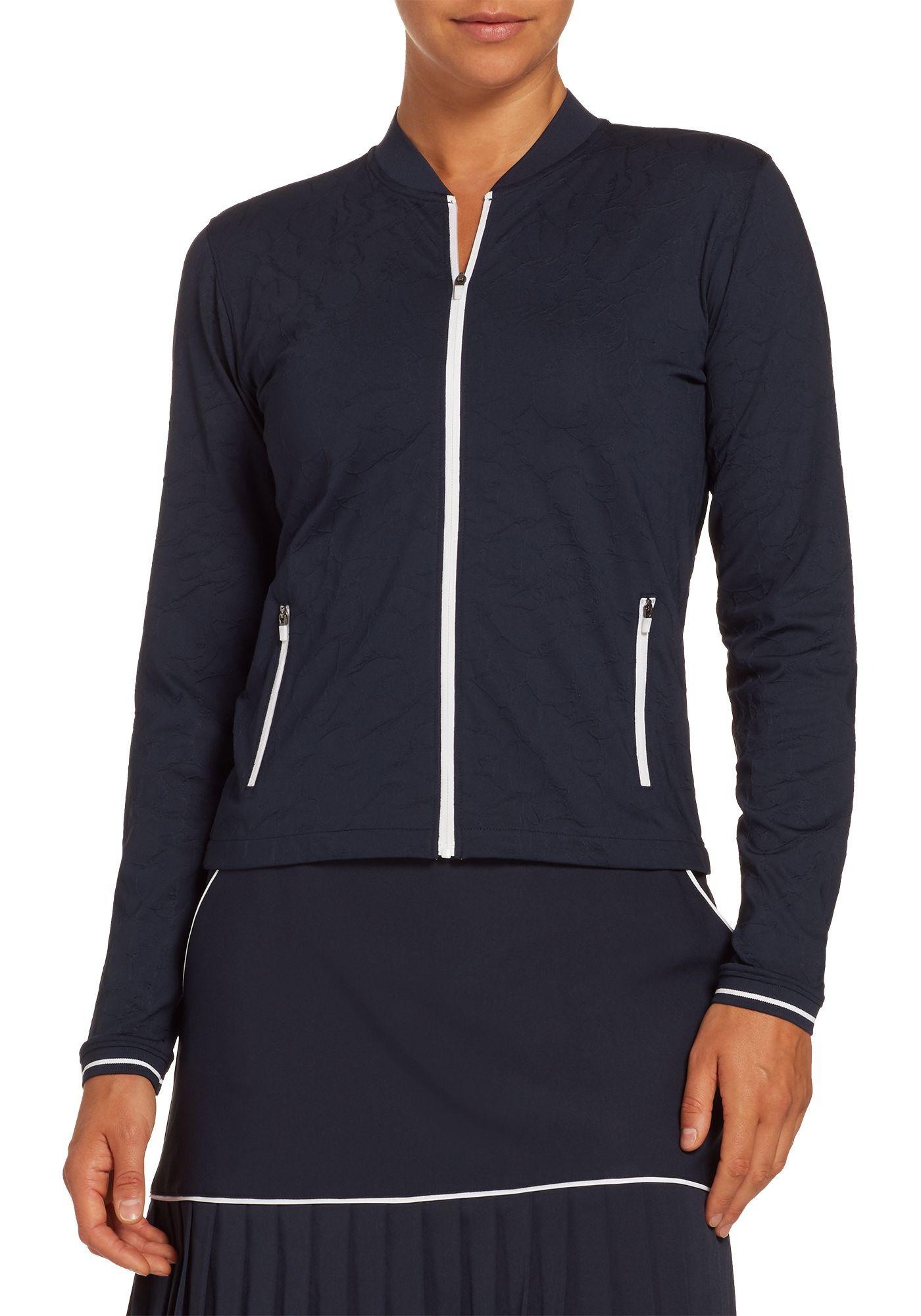 Lady Hagen Women's Texture Bomber Golf Jacket