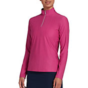 Lady Hagen Women's Printed UV ¼-Zip Golf Pullover