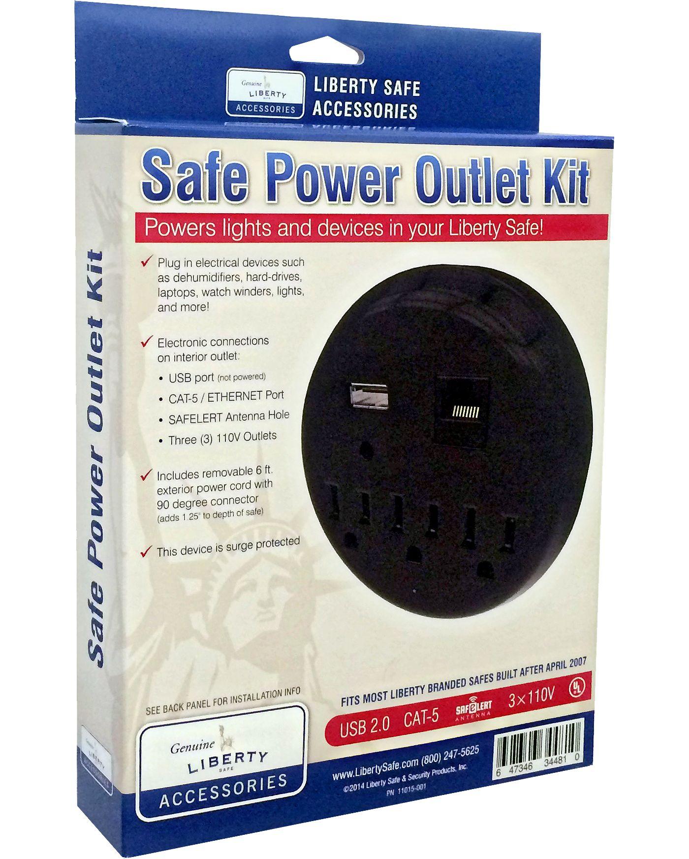Liberty Safes Safe Power Outlet Kit