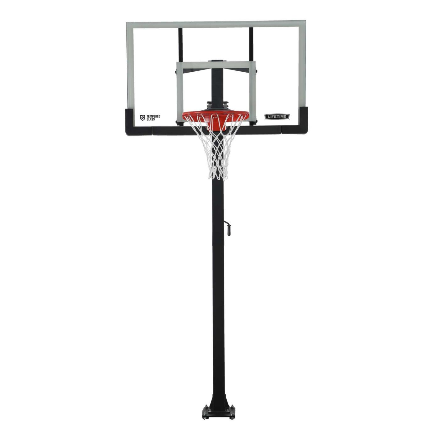 "Lifetime 54"" In-Ground Crank Basketball Hoop"