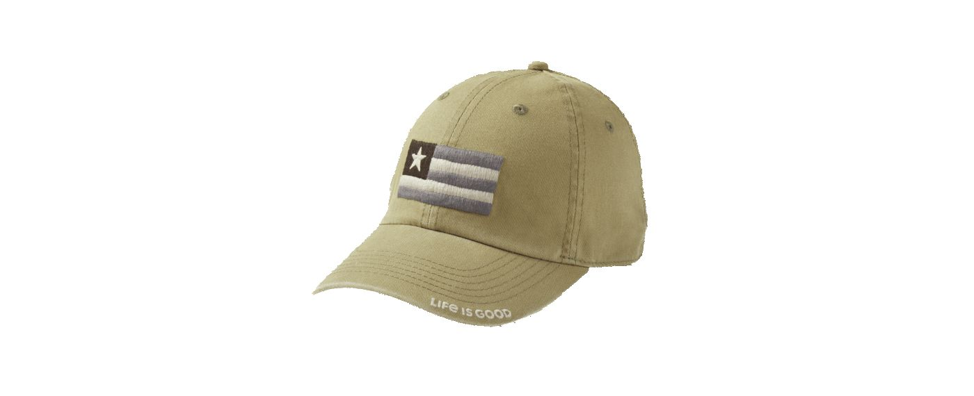 Life is Good Men's Flag Patch Chill Cap