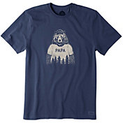 Life is Good Men's Papa Bear Crusher T-Shirt