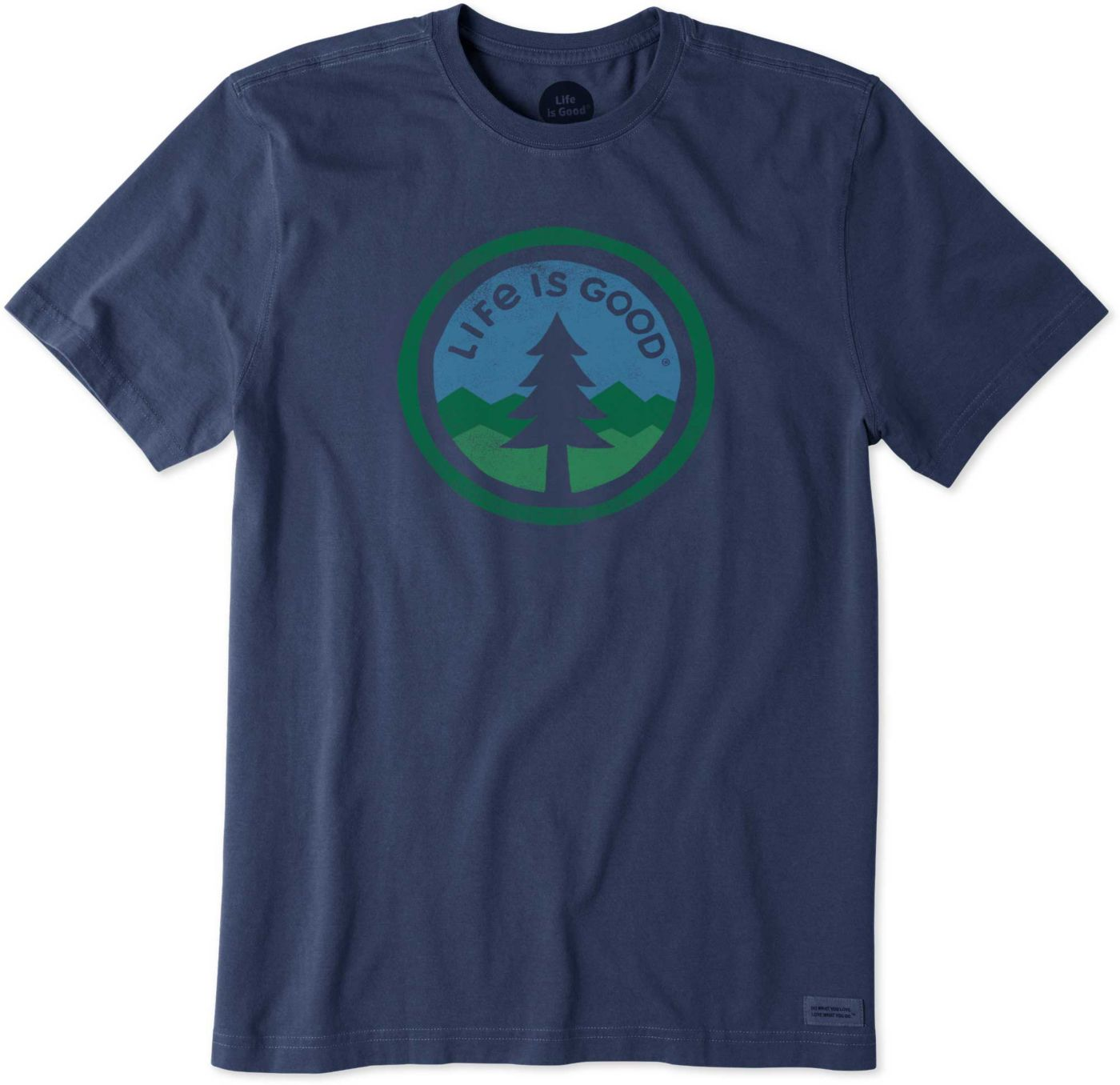 Life is Good Men's Tree Coin Crusher T-Shirt