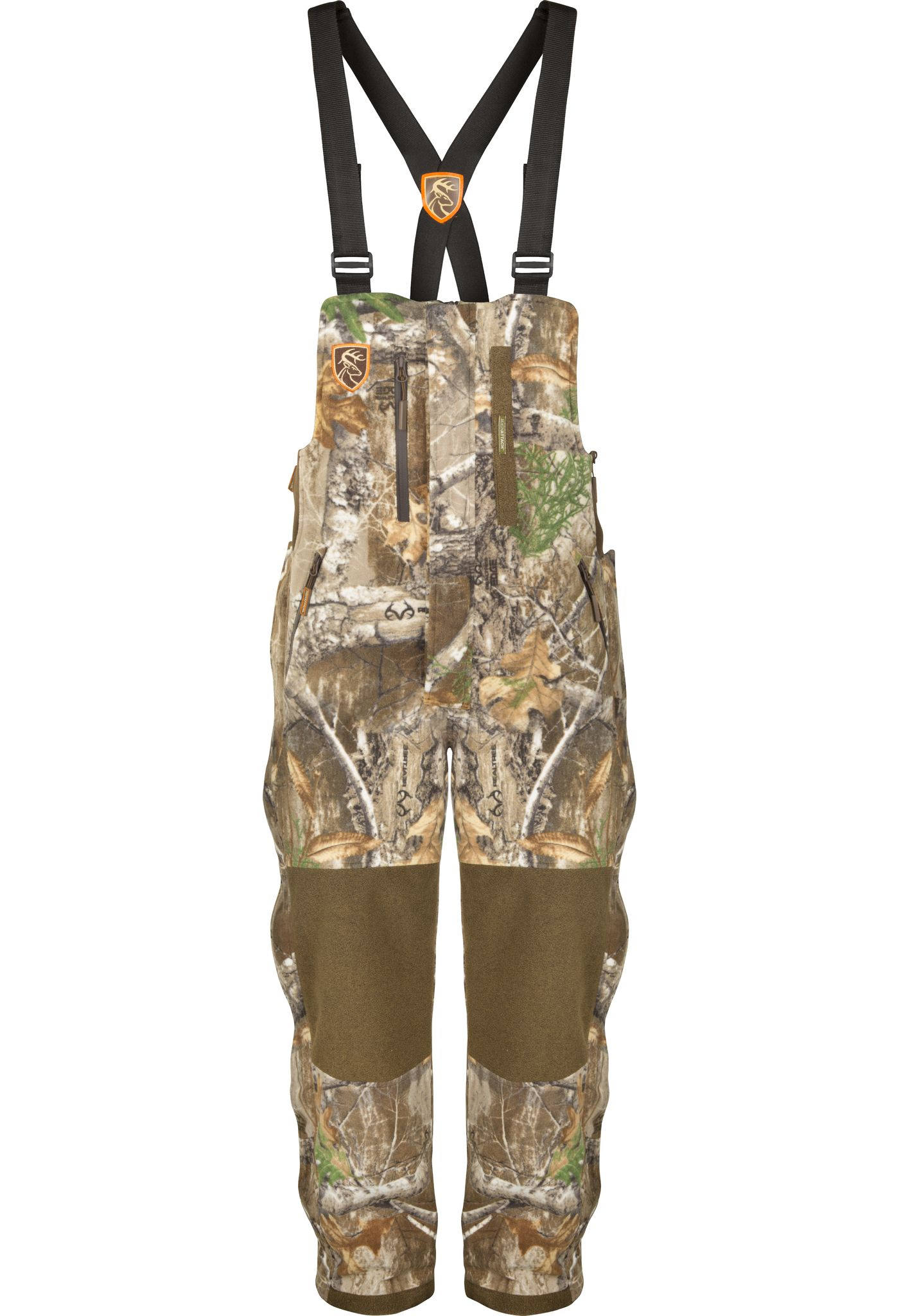 Drake Waterfowl Men's Non-Typical HydroHush Heavyweight Bibs with Agion Active XL