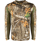 Drake Waterfowl Men's Non-Typical Performance Crew Long Sleeve Hunting Shirt with Agion Active XL
