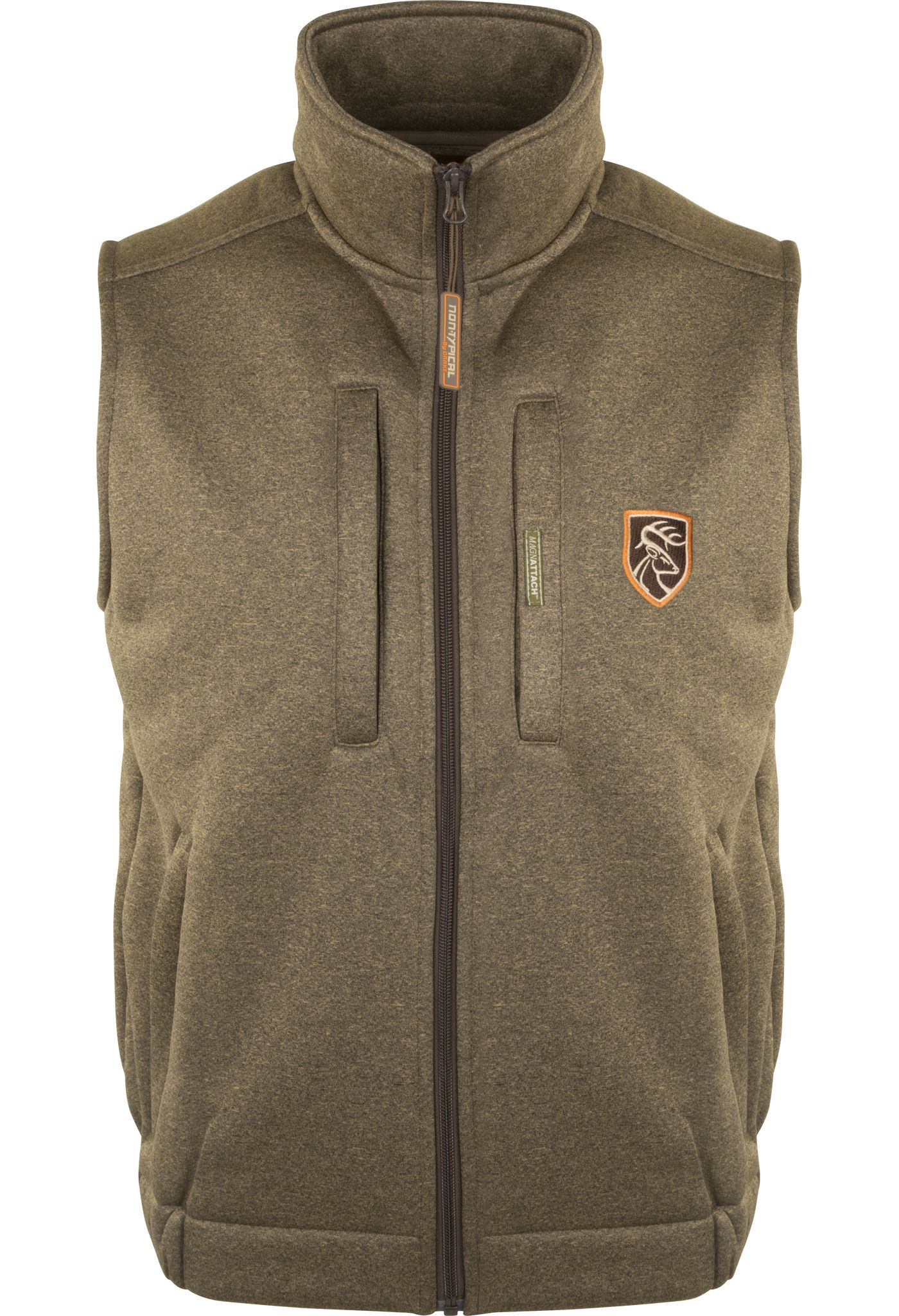 Drake Waterfowl Men's Non-Typical Soft Shell Fleece Vest