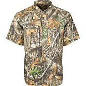 Drake  Waterfowl Men's Non-Typical Dura-Lite Short Sleeve Shirt with Agion Active XL