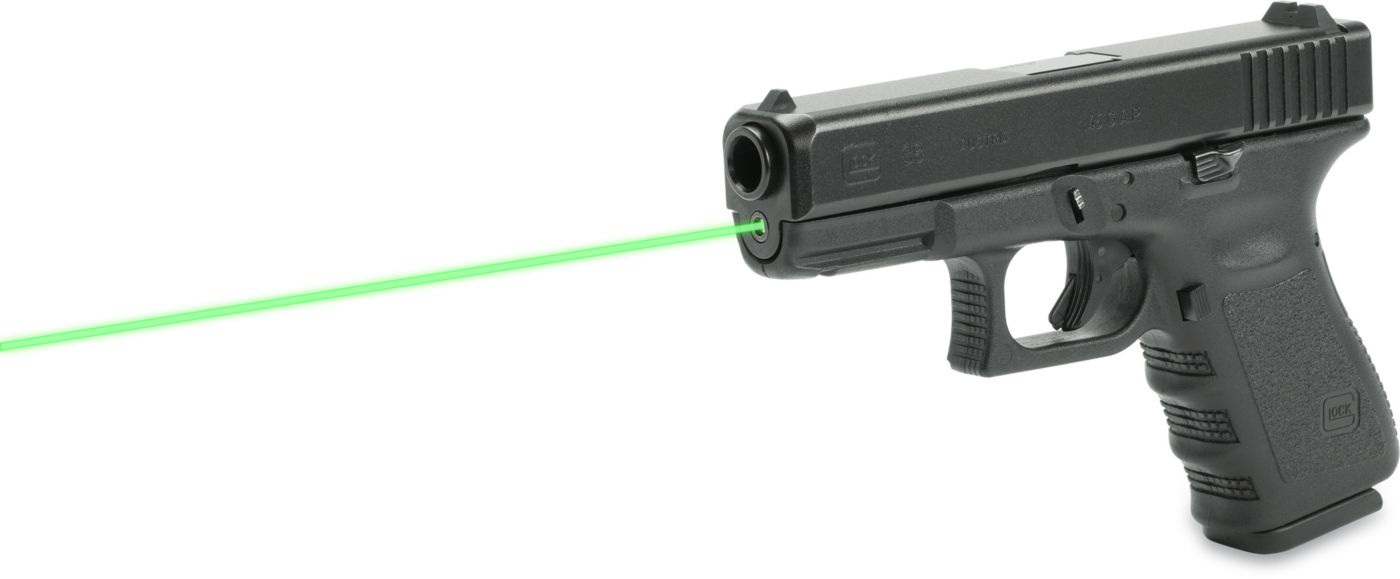 LaserMax Glock 19/23/32/38 Guide Rod Green Laser Sight