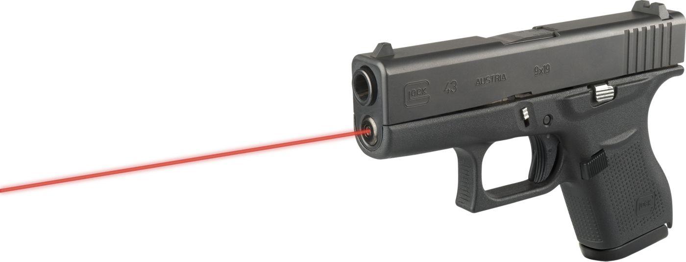 LaserMax Glock 43 Guide Rod Red Laser Sight