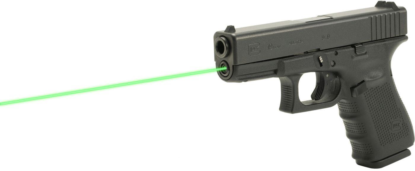 LaserMax Glock Gen 4 Model 19 Guide Rod Green Laser Sight