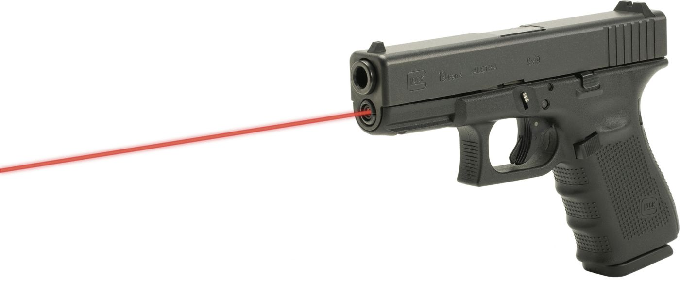 LaserMax Glock Gen 4 Model 19 Guide Rod Red Laser Sight