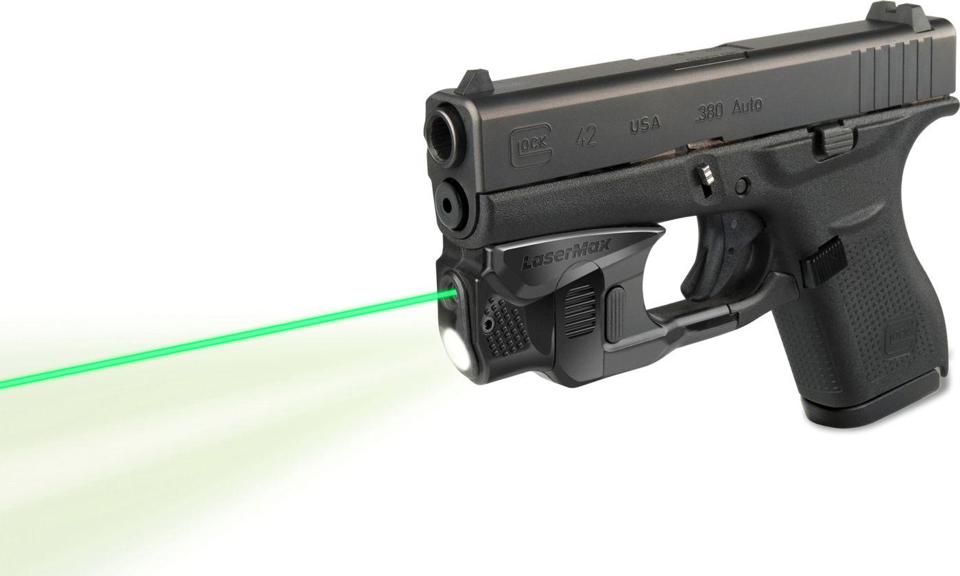 LaserMax GripSense Glock Green Light/Laser Sight