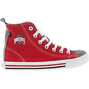 Skicks Ohio State Buckeyes High Top Shoes