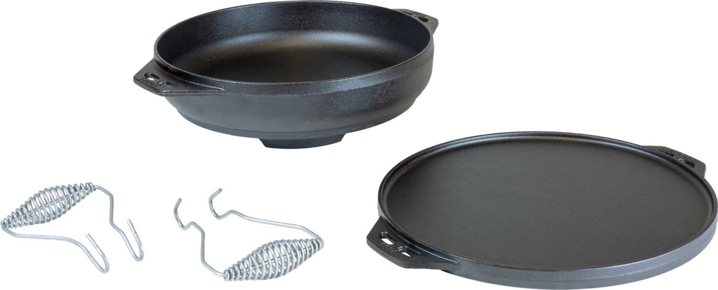 """Lodge 14"""" Cast Iron Cook It All"""