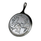 "Lodge Wildlife Series 10.5"" Cast Iron Moose Grill Pan"