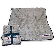 Illinois Fighting Illini Frosty Fleece Blanket