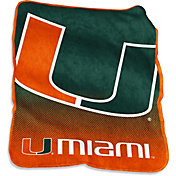 Miami Hurricanes 50'' x 60'' Raschel Throw Blanket
